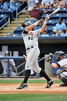 Tri-City  Valley Cats third baseman Matt Duffy #40 during a game against the Staten Island Yankees at Richmond County Bank Ballpark at St. George on July 25, 2011 in Staten Island, NY.  Staten Island defeated Tri-City 2-1.  Tomasso DeRosa/Four Seam Images