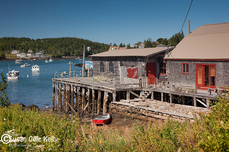 The fishing village of Cutler, ME