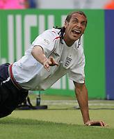 Rio Ferdinand.  England defeated Ecuador, 1-0, in their FIFA World Cup round of 16 match at Gottlieb-Daimler-Stadion in Stuttgart, Germany, June 25, 2006.