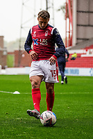 3rd October 2020; City Ground, Nottinghamshire, Midlands, England; English Football League Championship Football, Nottingham Forest versus Bristol City; Luke Freeman of Nottingham Forest warms-up prior to the match