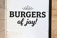 Burger of Joy! The burger bar is closed during Worcestershire CCC vs Essex CCC, LV Insurance County Championship Group 1 Cricket at New Road on 2nd May 2021