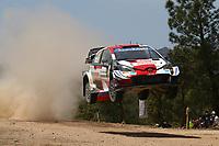 4th June 2021; Alghero, Sardinia; WRC rally of Italia Sardinia, stages  1-8;  Kalle Rovenpera-Toyota Yaris WRC