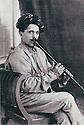Syria 1945 .Damascus: Ahmed Ferman, Kurdish singer.Syrie 1945.A Damas, Ahmed Ferman, chanteur kurde