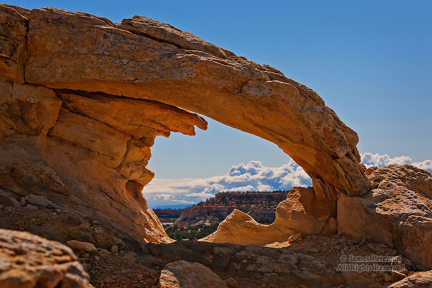 No-Name Arch near Escalante, Utah.