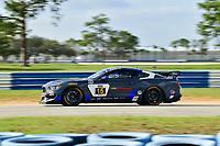 IMSA Continental Tire SportsCar Challenge<br /> Sebring February Test<br /> Sebring International Raceway, Sebring, Florida, USA<br /> Wednesday 21 February 2018<br /> #15 Multimatic Motorsports, Ford Mustang GT4, GS: Scott Maxwell, Chase Briscoe<br /> World Copyright: Richard Dole<br /> LAT Images