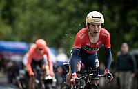 Domenico Pozzovivo (ITA/Bahrain-Merida)<br /> <br /> Stage 9 (ITT): Riccione to San Marino (34.7km)<br /> 102nd Giro d'Italia 2019<br /> <br /> ©kramon