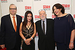 Barry Grove, Kumiko Yoshii, Hal Prince and Lynne Meadow attend the 2017 Manhattan Theatre Club Fall Benefit honoring Hal Prince on October 23, 2017 at 583 Park Avenue in New York City.