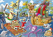 Alfredo, CUTE ANIMALS, puzzle, paintings(BRTO27064,#AC#) illustrations, pinturas, rompe cabeza