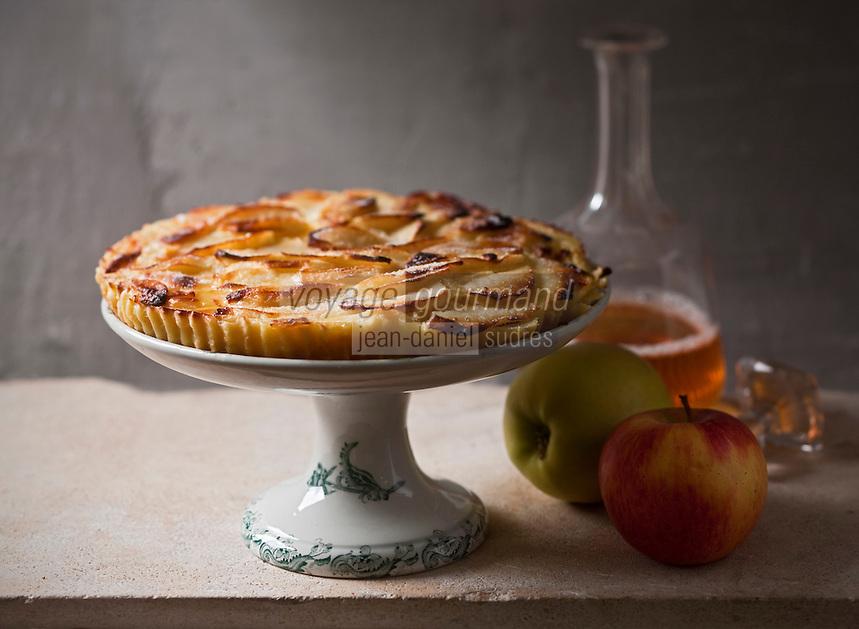 Europe/France/Limousin/19/Corrèze: Flognarde aux pommes