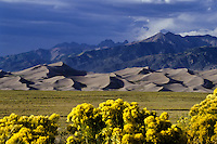The Great Sand Dunes National Park in Colorado, USA