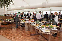 Guests enjoying the Corinthian Sports hospitality boxes during the The Coronation Stakes Day of Royal Ascot 2017 at Royal Ascot Racecourse on Friday 23rd June 2017 (Photo by Rob Munro/Stewart Communications)