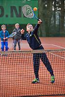 Arnhem, The Netherlands, March 06, 2016,  Start Tennis Kids World Tour 2016<br /> Photo: Tennisimages/Henk Koster