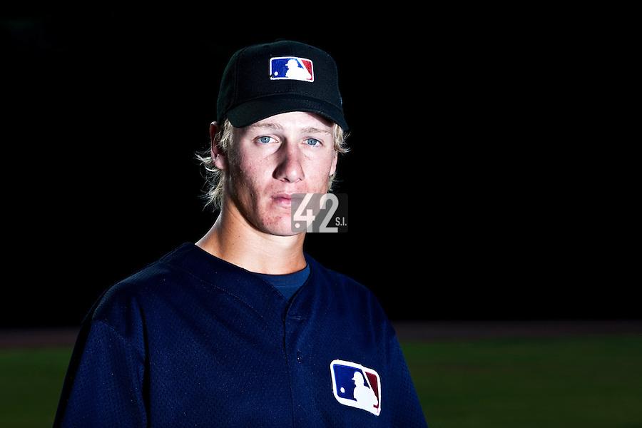 Baseball - MLB European Academy - Tirrenia (Italy) - 22/08/2009 - Daan Cornilessen of Netherlands ( Pittsburgh Pirates)