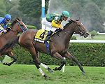 8.12.10 Intedomine wins the New York Stallion Series - Statue of Liberty Division with Ramon Dominguez up