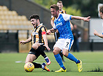 East Fife v St Johnstone…29.07.17… Bayview… Pre-Season Friendly<br />Kyle Wilkie is tcakled by Chris Millar<br />Picture by Graeme Hart.<br />Copyright Perthshire Picture Agency<br />Tel: 01738 623350  Mobile: 07990 594431