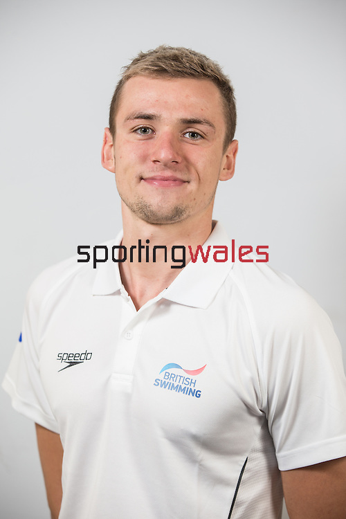 Team GB Rio Olympics marathon swimming team.<br /> Jack Burnell<br /> Wales National Swimming Pool<br /> 26.07.16<br /> ©Steve Pope Sportingwales