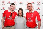 Guest pose for a photo during HSBC Hong Kong Rugby Sevens 2017 on 07 April 2017 in Hong Kong Stadium, Hong Kong, China. Photo by King Chung Fung / Power Sport Images