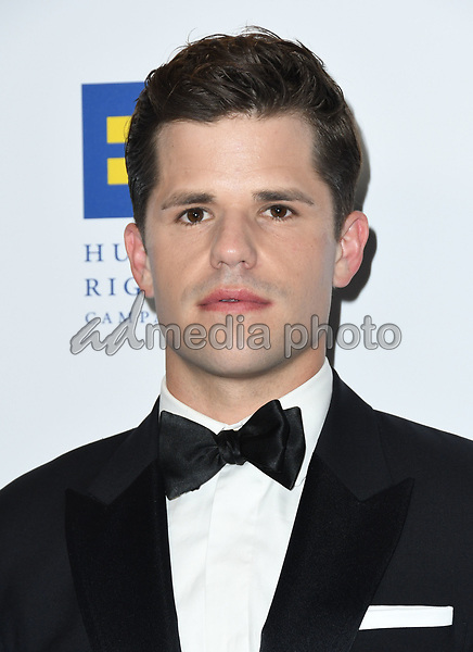 10 March 2018 - Los Angeles, California - Charlie Carver. The Human Rights Campaign 2018 Los Angeles Dinner held at JW Marriott LA Live. Photo Credit: Birdie Thompson/AdMedia