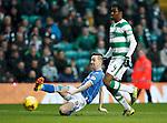 Celtic v St Johnstone...23.01.16   SPFL  Celtic Park, Glasgow<br /> Steven MacLean's shot is saved by Craig Gordon<br /> Picture by Graeme Hart.<br /> Copyright Perthshire Picture Agency<br /> Tel: 01738 623350  Mobile: 07990 594431