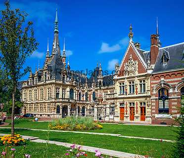 Frankreich, Normandie, Département Seine-Maritime, Fécamp: Benediktiner Palast   France, Normandy, Département Seine-Maritime, Fécamp: Benedictine Palace