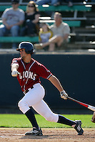 March 23, 2010: Colton Plaia of Loyola Marymount during game   against Cal. St. Fullerton at LMU in Los Angeles,CA.  Photo by Larry Goren/Four Seam Images