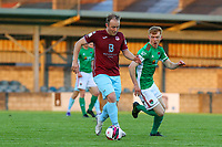 David O'Leary of Cobh Ramblers with Alec Byrne of Cork City.<br /> <br /> Cobh Ramblers v Cork City, SSE Airtricity League Division 1, 28/5/21, St. Colman's Park, Cobh.<br /> <br /> Copyright Steve Alfred 2021.