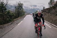 Gregory Rast (SUI/Trek-Segafredo)<br /> <br /> 76th Paris-Nice 2018<br /> Stage 7: Nice > Valdeblore La Colmiane (175km)