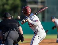 STANFORD, CA - JUNE 5: Brock Jones during a game between UC Irvine and Stanford Baseball at Sunken Diamond on June 5, 2021 in Stanford, California.