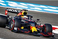 26th March 2021; Sakhir, Bahrain; F1 Grand Prix of Bahrain, Free Practice sessions;  33 VERSTAPPEN Max (nld), Red Bull Racing Honda RB16B during Formula 1 Gulf Air Bahrain Grand Prix 2021