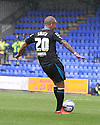 Jimmy Smith of Stevenage shoots wide<br />  - Tranmere Rovers v Stevenage - Sky Bet League One - Prenton Park, Birkenhead - 7th September 2013. <br /> © Kevin Coleman 2013