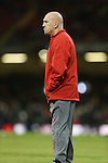Wales defence coach Shaun Edwards.<br /> RBS 6 Nations 2014<br /> Wales v Italy<br /> Millennium Stadium<br /> 01.02.14<br /> <br /> ©Steve Pope-SPORTINGWALES