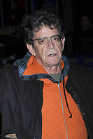 """NEW YORK - OCTOBER 06: Singer Lou Reed visits 'Late Show with David Letterman' at the Ed Sullivan Theatre sporting a """"grill""""  on October 6, 2008 in New York City.<br /> <br /> People:  Lou Reed"""