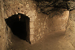 Israel, Lower Galilee, the cave from the Roman period beneath the Greek Orthodox Metropolite in Nazareth
