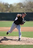 Jonathan Stiever - Chicago White Sox 2019 spring training (Bill Mitchell)