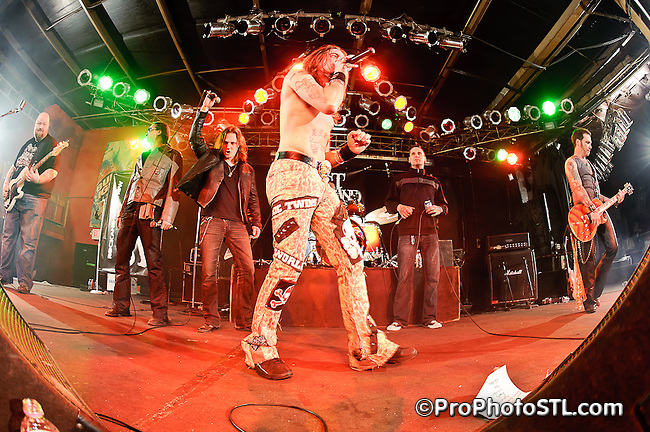 Dust & Bones CD release show at Pop's in Sauget, IL on March 12, 2011.