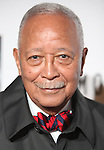 David Dinkins.attending the Opening Night Performance of 'The Mountaintop' at the Bernhard B.  Jacobs Theatre in New York City.