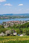 CHE, Schweiz, Kanton Thurgau, Steckborn, direkt am Untersee, dem westlichen Teil des Bodensees | CHE, Switzerland, Canton Thurgau, Steckborn at Lake Constance