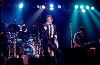 The ANIMALS<br /> Juillet 1983,<br /> Montreal, CANADA<br /> <br /> PHOTO :  Agence Quebec Presse