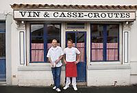Europe/France/Aquitaine/64/Pyrénées-Atlantiques/Pays Basque/ Biarritz: Restaurant: La Tantina de Burgos,  Stéphane Tellechea et Mathieu Devaux