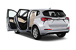 Car images close up view of a 2020 Buick Envision Preferred FWD 5 Door SUV doors