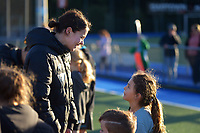 Tarryn Davey. Vantage Black Sticks hockey community session prior to the upcoming Sentinel Homes Trans-Tasman Series at Twin Turfs in Palmerston North, New Zealand on Tuesday, 25 May 2021. Photo: Dave Lintott / lintottphoto.co.nz