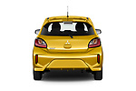 Straight rear view of 2020 Mitsubishi Space-Star Diamond-Edition 5 Door Hatchback Rear View  stock images