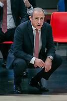 armani - Panatinaikos eurolega basket 2020-2021 - Milano 3 dicembre 2020 - nella foto: ettore messina coach armani