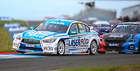 30th August 2020; Knockhill Racing Circuit, Fife, Scotland; Kwik Fit British Touring Car Championship, Knockhill, Race Day; Ashely Sutton starts round 10 in pole position