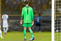 SAN SALVADOR, EL SALVADOR - SEPTEMBER 2: Matt Turner #1 of the United States during a game between El Salvador and USMNT at Estadio Cuscatlán on September 2, 2021 in San Salvador, El Salvador.