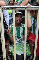 MEDELLIN -COLOMBIA-9 -NOVIEMBRE-2014. Se celebro en esta capital el  Dia del Hincha del Atletico Nacional . / was held in the capital on the day of a fan of Atletico Nacional. Photo: VizzorImage / Luis Rios  / Stringer