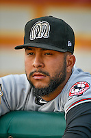 Soid Marquez (53) of the Billings Mustangs before the game against the Orem Owlz in Pioneer League action at Home of the Owlz on July 25, 2016 in Orem, Utah. Orem defeated Billings 6-5. (Stephen Smith/Four Seam Images)