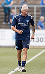 Forfar v St Johnstone….27.07.19      Station Park     Betfred Cup       <br />A happy Jim Weir at full time<br />Picture by Graeme Hart. <br />Copyright Perthshire Picture Agency<br />Tel: 01738 623350  Mobile: 07990 594431
