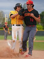 Mountain View vs Willow Glen High School varsity Baseball in Mountain View, CA Monday April 8, 2019. (Photo by Alan Greth)