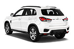 Car pictures of rear three quarter view of a 2020 Mitsubishi Outlander Sport GT 5 Door SUV angular rear